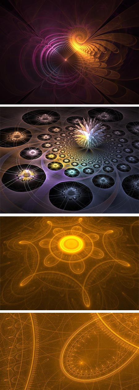 60 Fractal Images