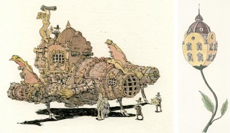Mattias Adolfsson, Star Wars,the baroque version, houseflower