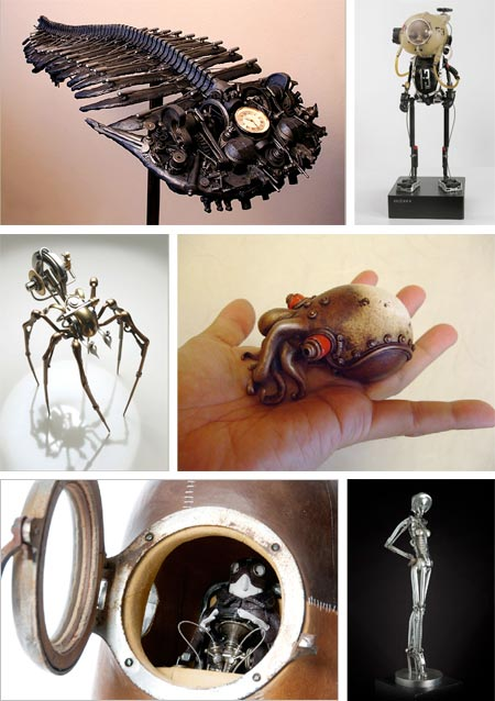 Assembled Artifacts, a show of sculptural objects that opened today at