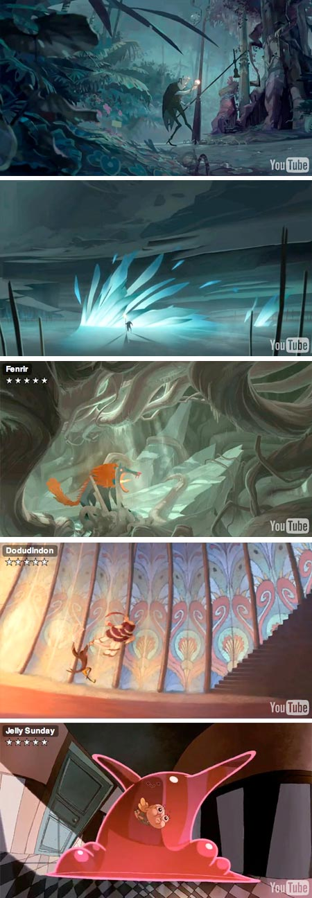 Gobelins Students Animations for Annecy 2009