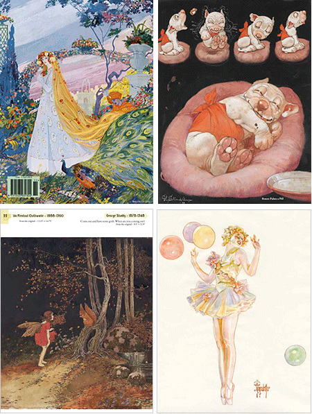 Vedeboncoeur Collestion of ImageS: mberto Brunelleschi, George Studdy, Ida Rentoul Outhwaite, J.C. Leyendecker