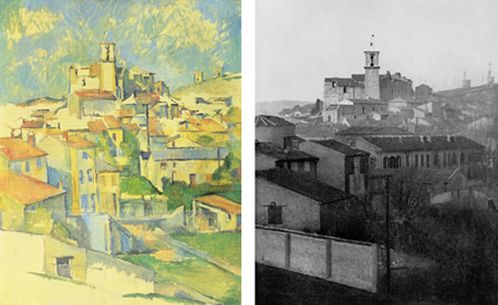Cezanne - cubist townscape