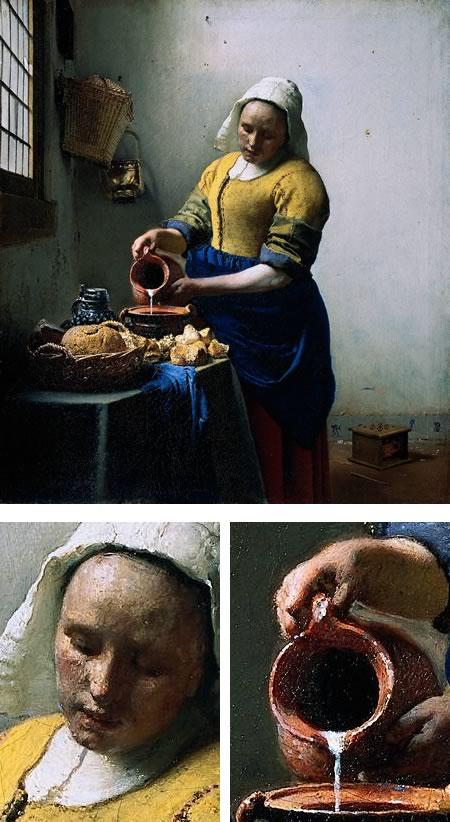 Vermeer - The Milkmaid (De melkmeid)