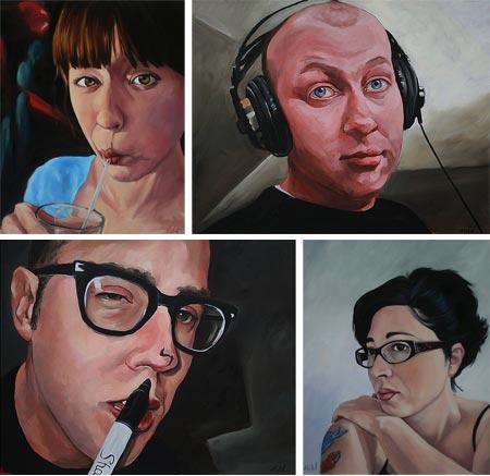 Matt Held, Facebook profile portraits