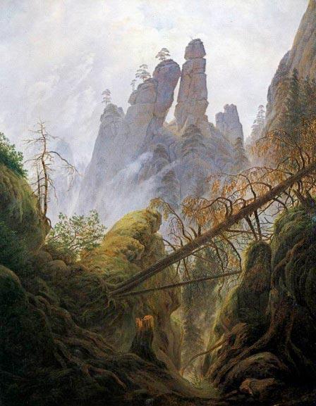 century german landscape