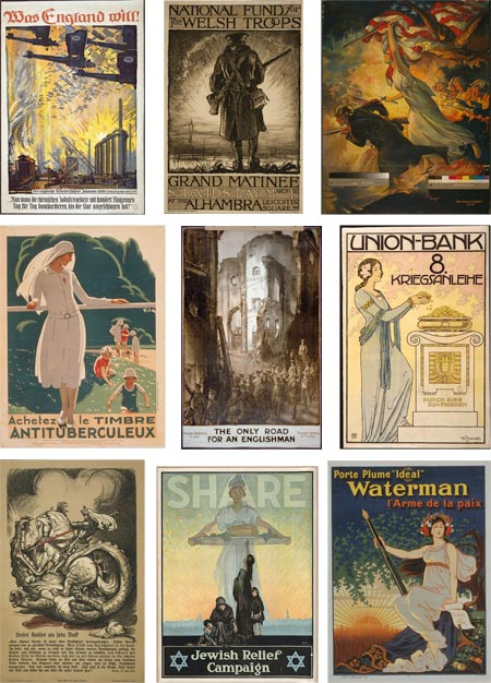 World War I Poster Archive in the Library of Congress