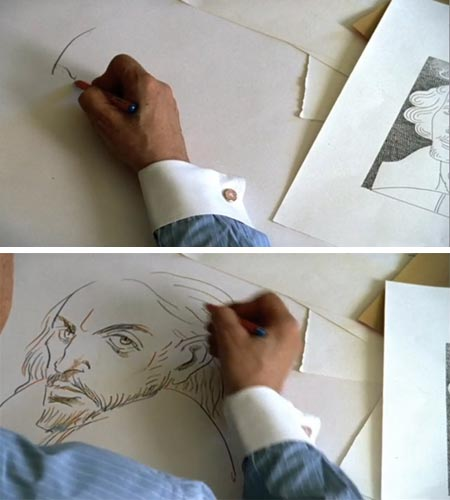 Milton Glaser Draws and Lectures