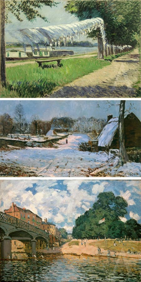 Impressionism - Painting Light at the Albertina, Gustav Caillebotte, Maxime Maufra, Alfred Sisley