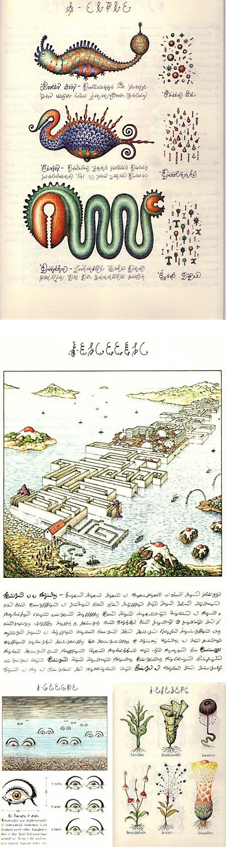 The Codex Seraphinianus - Luigi Serafini