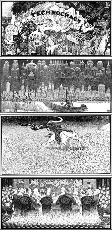 Editorial Drawings of Winsor McCay