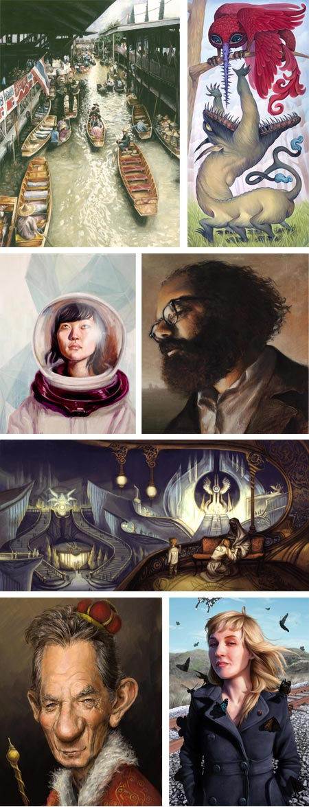 Society of Illustrators 2010 Student Scholarship Competition: Lisa Ambrose, Alyssa Deville, Shaun Berke, Leon Doucette, Ruth Kim, Samuel Spratt, Toni Foti