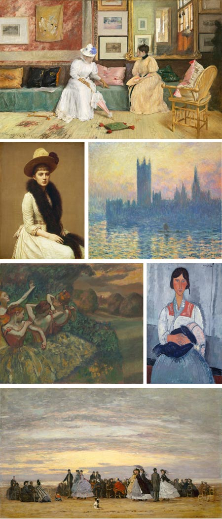 From Impressionism to Modernism: The Chester Dale Collection at The National Gallery - William Merritt Chase, Henri Fantin-Latour, Claude Monet, Edgar Degas, Amedeo Modigliani, Eugene Boudin