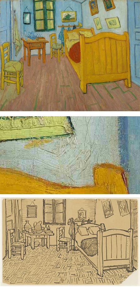 Restoration of Van Gogh's The Bedroom
