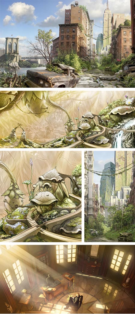 ... concept artist illustrator and comics artist he has done concept
