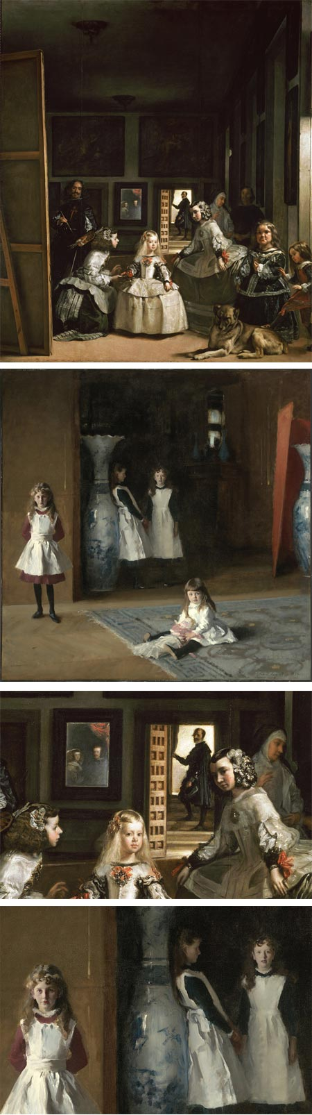 Sargent and Velazquez