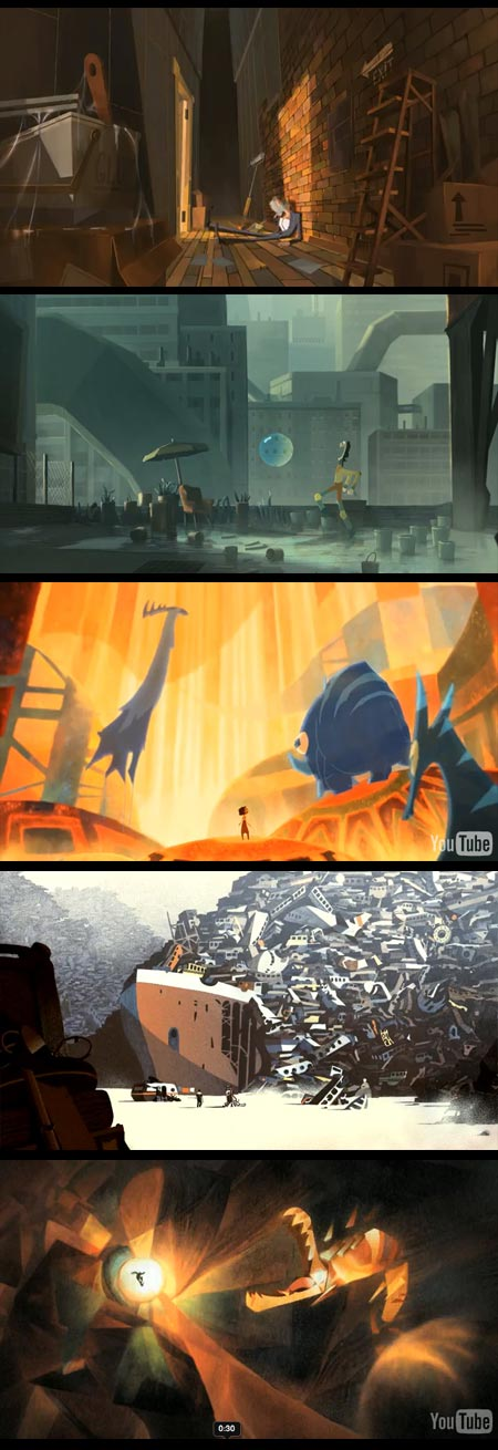 Gobelins Students Animations for Annecy 2010