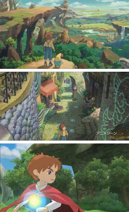 Ni no Kuni: Studio Ghibli/Level-5 video game