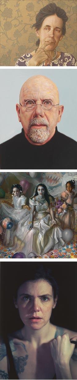 Outwin Boochever Portrait Competition 2009: Phillip Schirmer, Chuck Close, Margaret Bowland, Jen Bandini