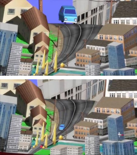 Reverse Perspective Animation, Jeremy Mooney-Somers