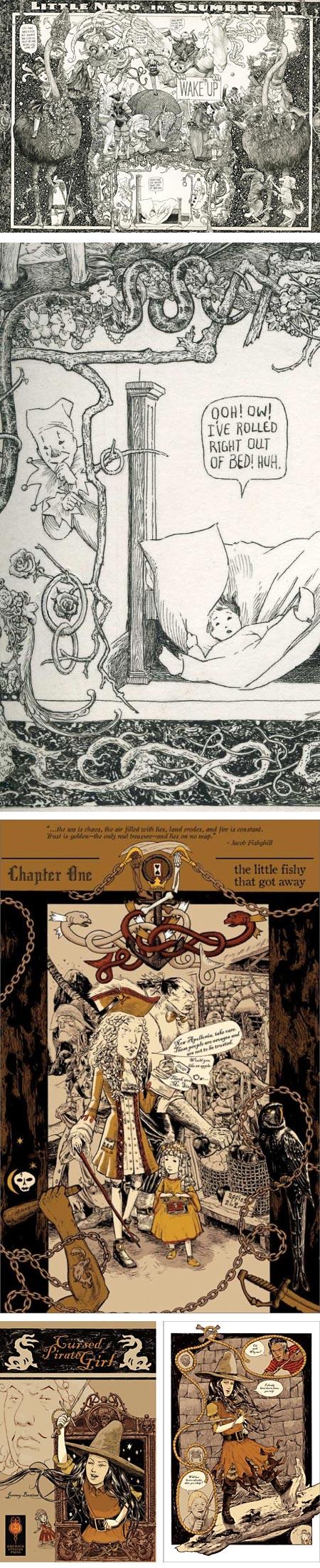 Jeremy Bastian, Cursed Pirate Girl