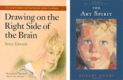 Drawing on the Right Side of the Brain, The Art Spirit