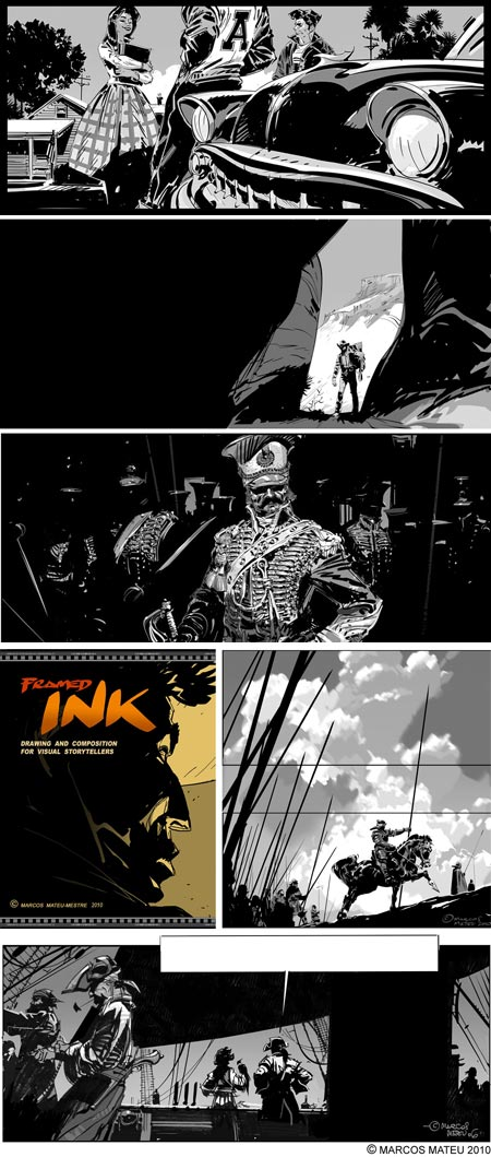 Framed Ink: Drawing and Composition for Visual Storytellers, Marcos Mateu-Mestre