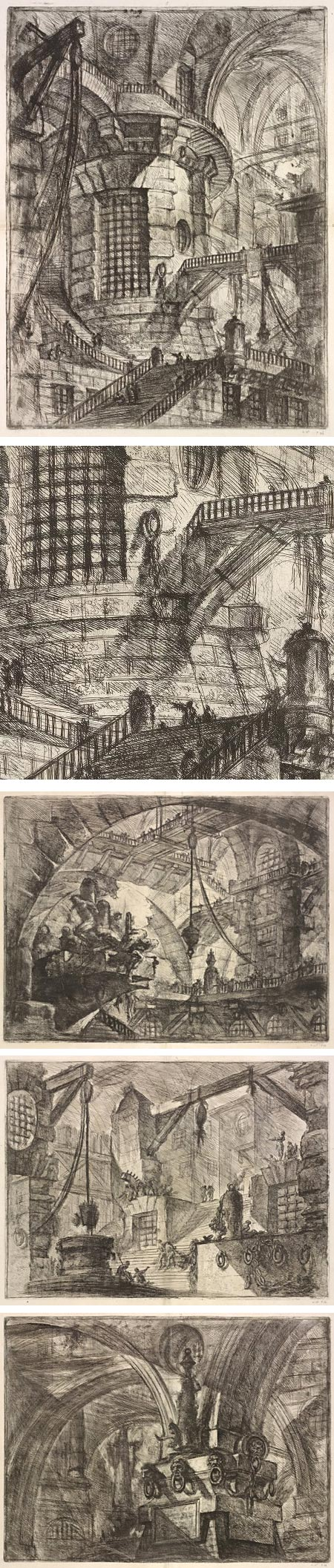 Piranesi's Prisons: Architecture of Mystery and Imagination, Giovanni Battista Piranesi