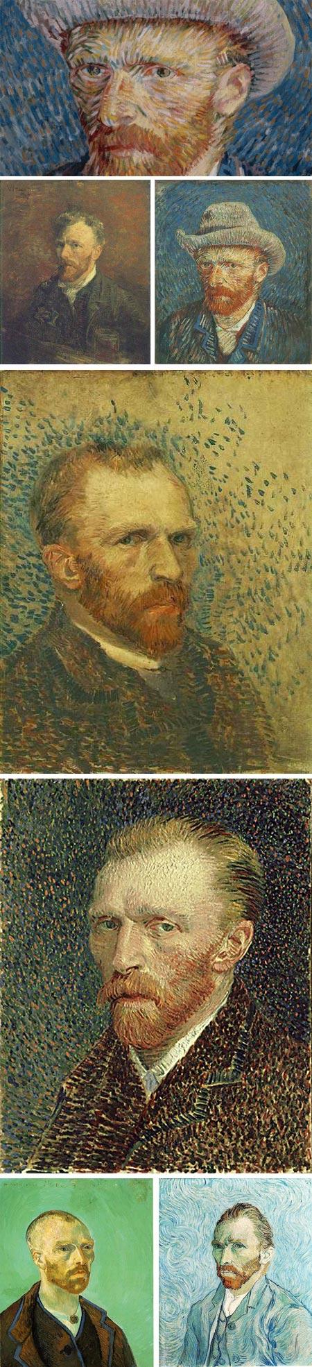 Van Gogh's self-portraits
