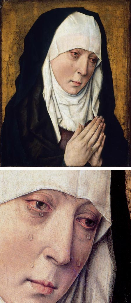 Weeping Madonna, Workshop of Dieric Bouts
