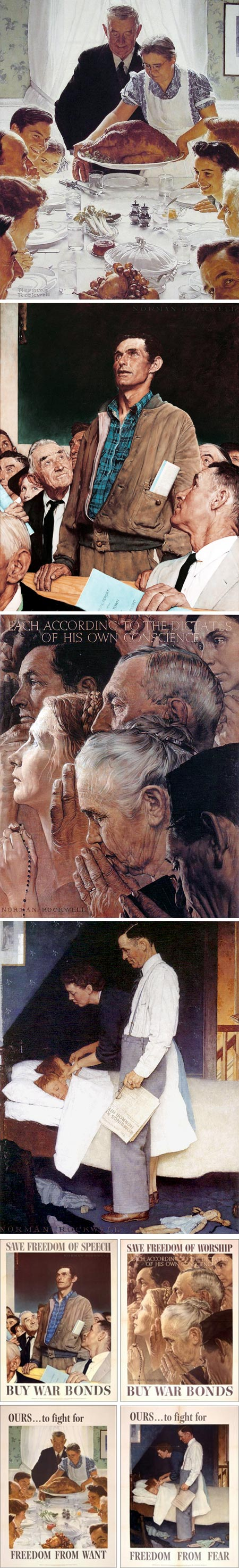 Rockwell's Four Freedoms