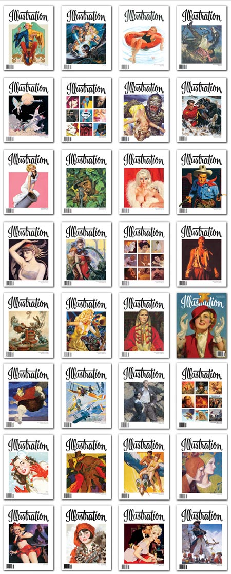 Illustration Magazine, Online Free in Fullscreen