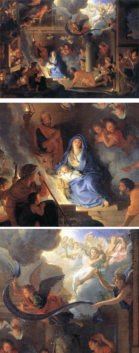Adoration of the Shepherds, Charles Le Brun