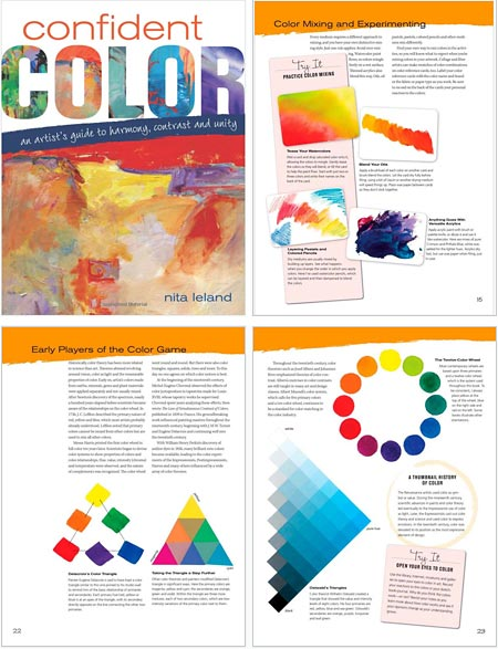 Confident Color: An Artist's Guide to Harmony, Contrast and Unity, Nita Leland