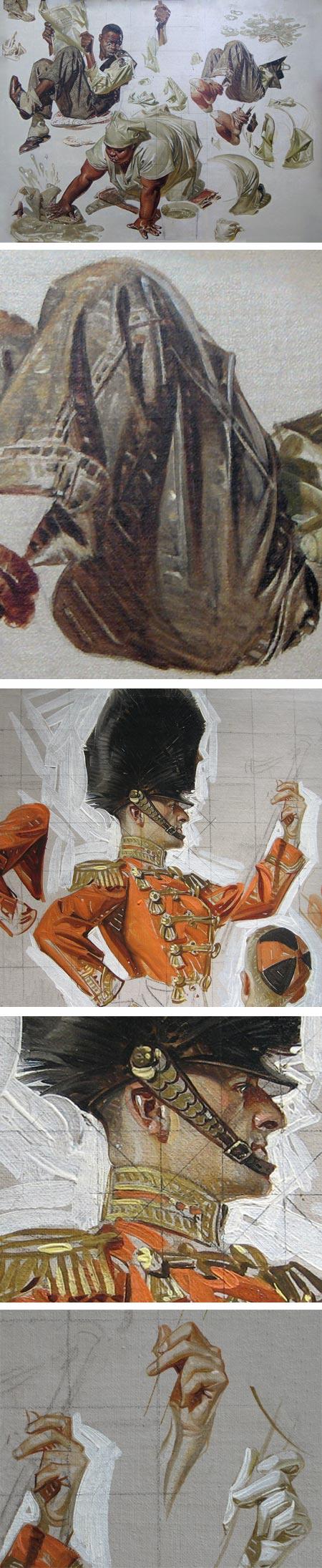 J.C. Leyendecker on Illustration Art