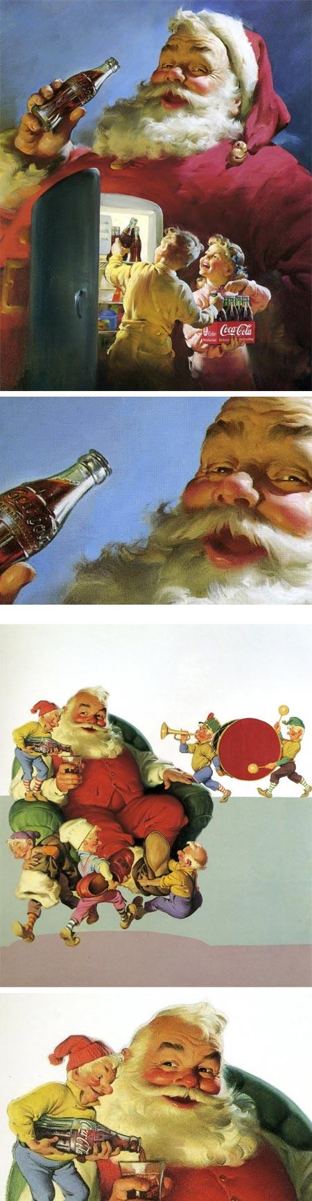 Haddon Sundblom Santas