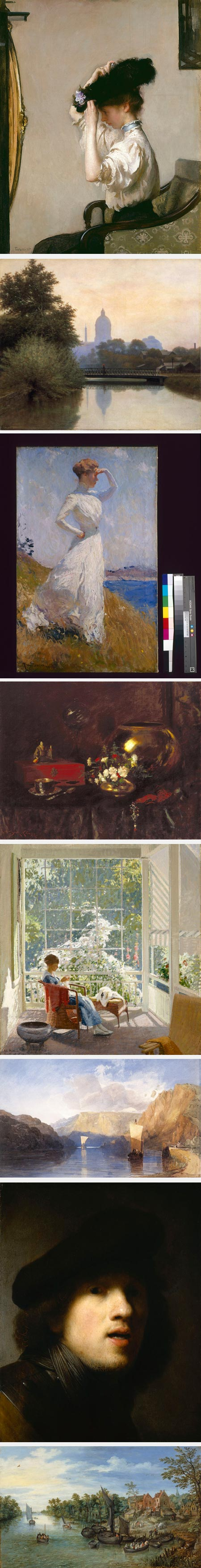 The Indianapolis Museum of Art: Edmund Tarbell, Richard B. Gruelle, Frank W. Benson, William Merritt Chase, John Sharman, John Cotman Sell, Rembrandt, Jan Brueghel the Elder