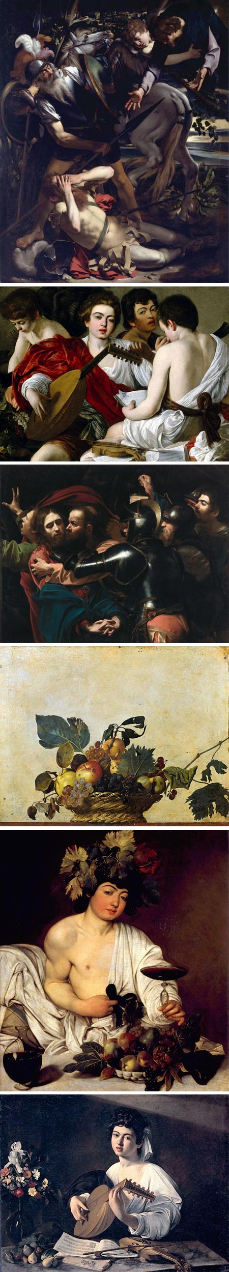 Caravaggio in Rome
