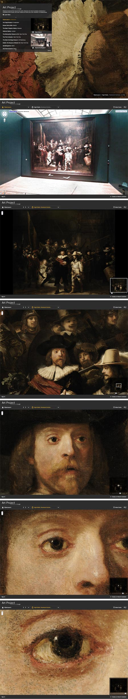 Google Art Project, Rembrandt, The Night Watch