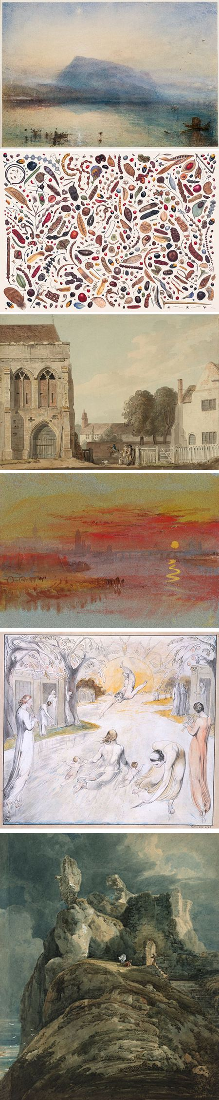Watercolour at the Tate Britain: JMW Turner, Rachael Pedder-Smith, Paul Sandby, JMW Turner, William Blake, Thomas Girtin