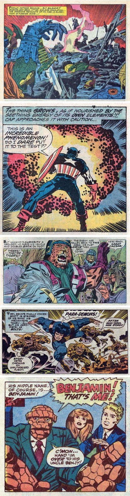 Jack Kirby: Kirb Your Enthusiasm: Thor, Captain America, Kamandi, Mr. Miracle, Fantastic Four