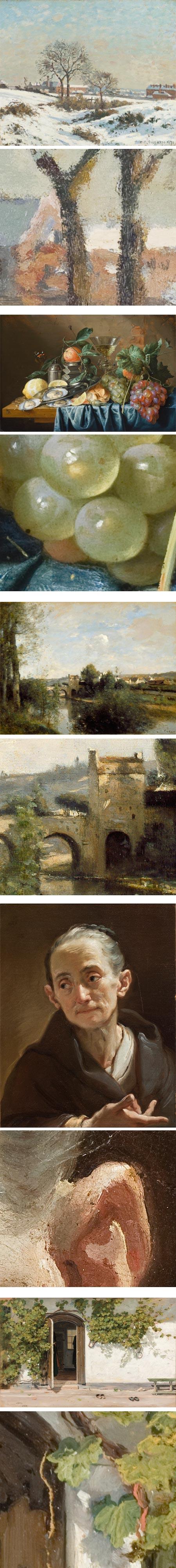 High-res art images from LACMA Image Library: Camille Pissarro, Jan Davidsz de Heem, Camille Corot, Ubaldo Gandolfi, Martinus Rørbye
