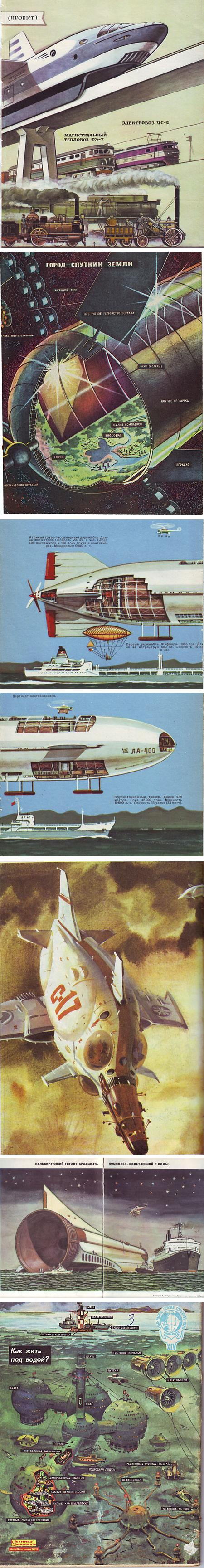 Russian vintage science illustration blog