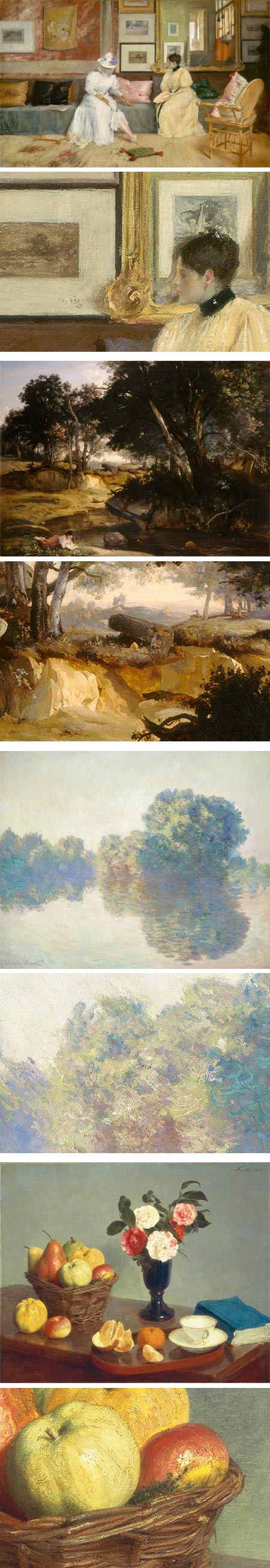 Chester Dale Collection on About.com: William Merritt Chase, Jean-Baptiste-Camile Corot, Claude Monet, Henri Fantin-Latour