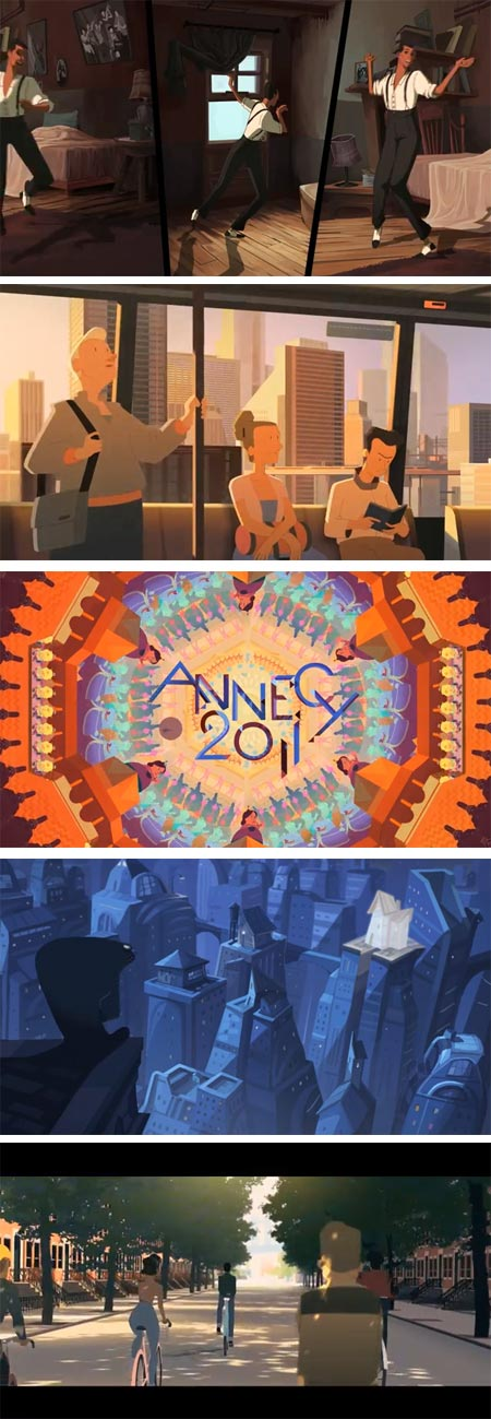 Gobelins Students Animations for Annecy 2011