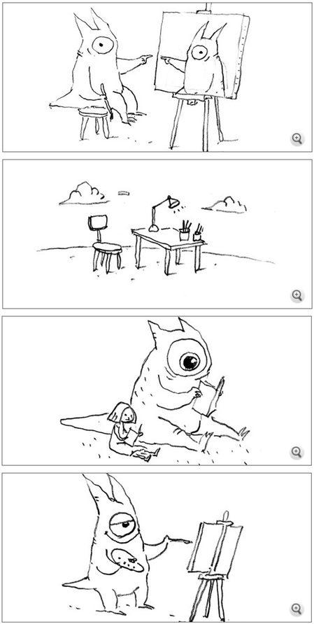 Illustrator Shaun Draws Conclusions on Spiegel