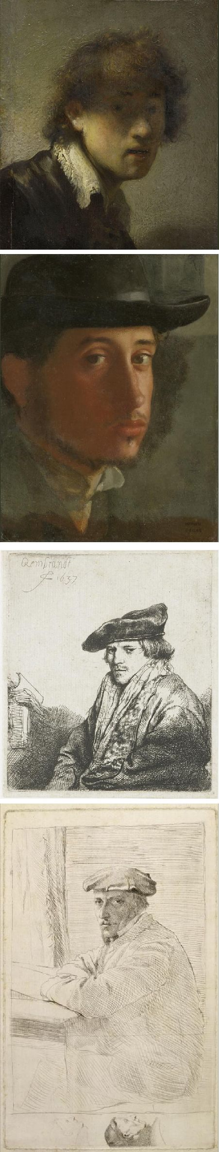 For the first time: Rembrandt & Degas