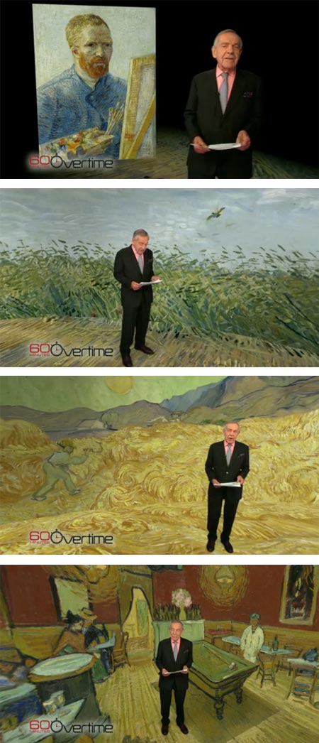 Van Gogh on 60 Minutes/Overtime