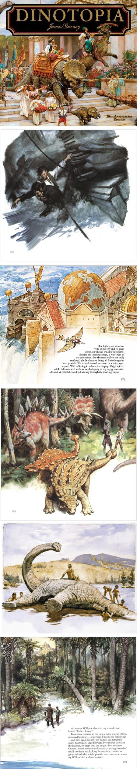 James Gurney's Dinotopia 20th Anniversary Edition