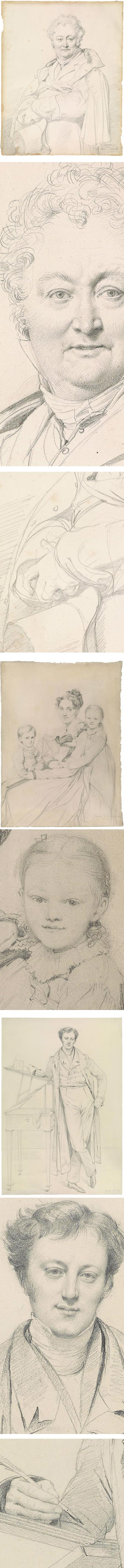 Ingres at the Morgan, graphite drwaings of ean-Auguste-Dominique Ingres