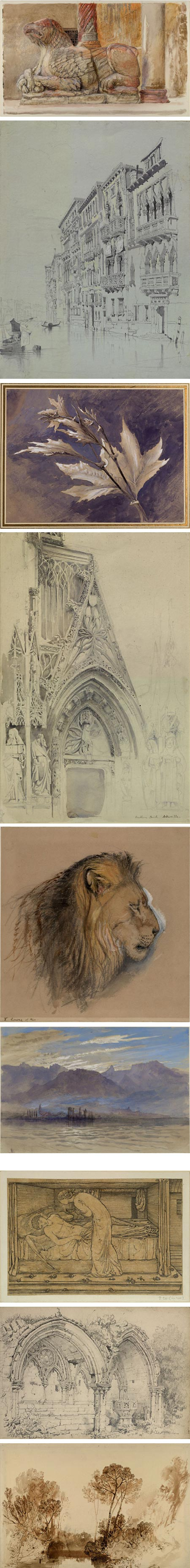 The Elements of Drawing: John Ruskin's Teaching Collection at Oxford - John Ruskin, Sir Edward Coley Burne-Jones, Samuel Prout, JMW Turner